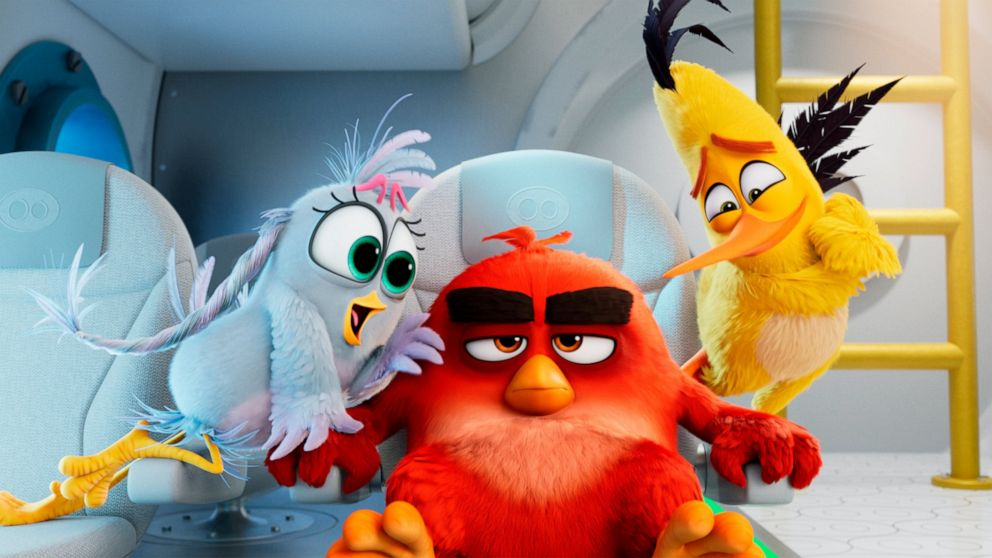 Angry Birds Summer Madness cast