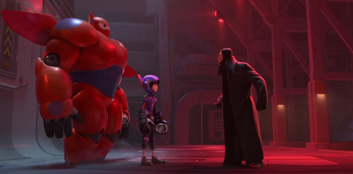Big-Hero 6 (2014) Top 6 Movies Like Spider-Man: Into The Spiderverse