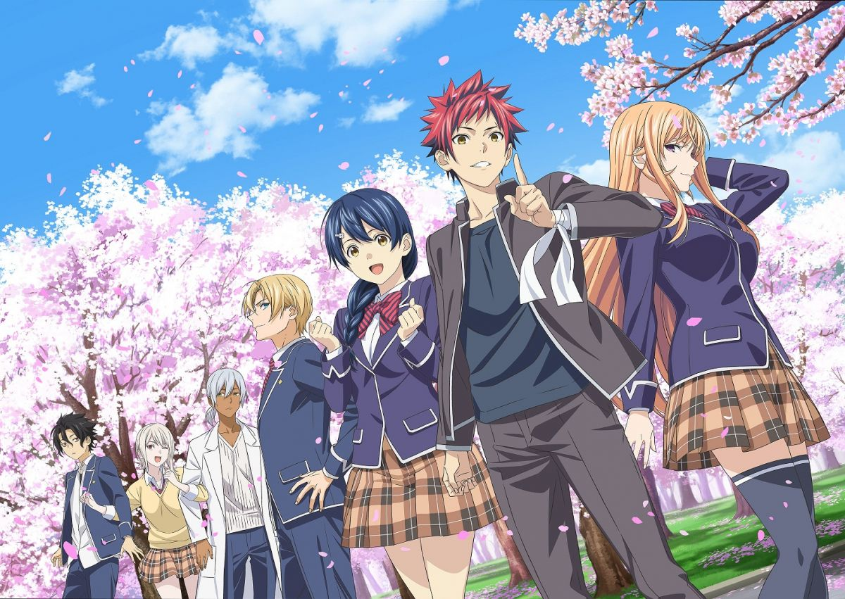 FOOD WARS THE FIFTH PLATE Top 6 Upcoming Anime In 2020