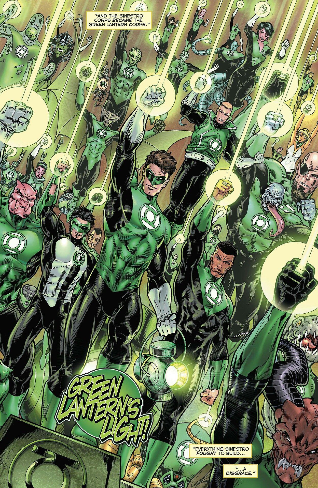 Green Lantern Corps light