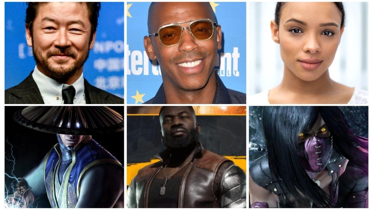 Mortal Kombat Movie characters