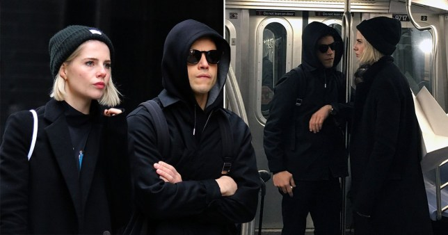 Rami Malek On The NYC subway rami malek favourite hangout spots in nyc