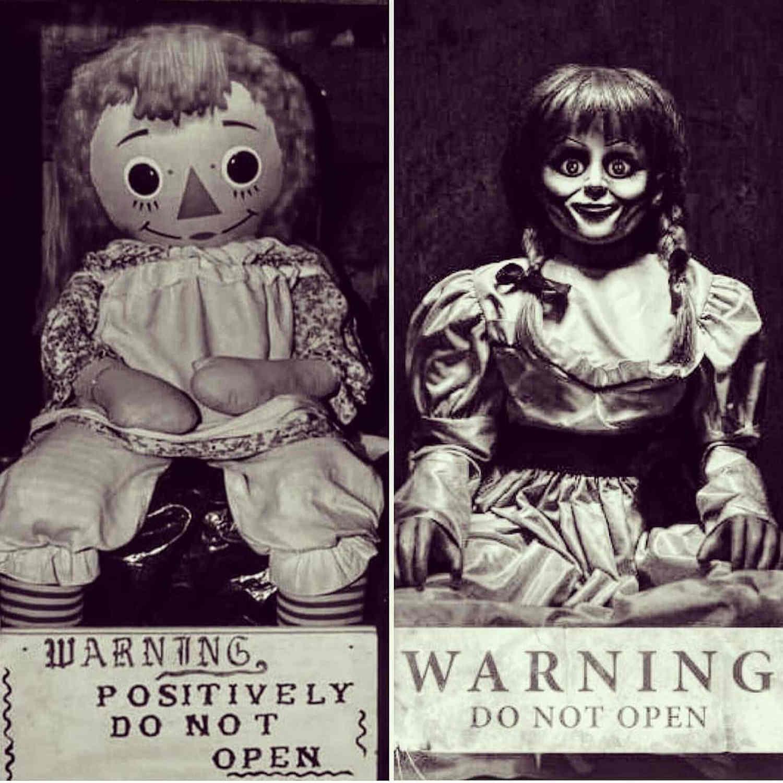 Demonic Dolls Owned by Ed & Lorraine Warren