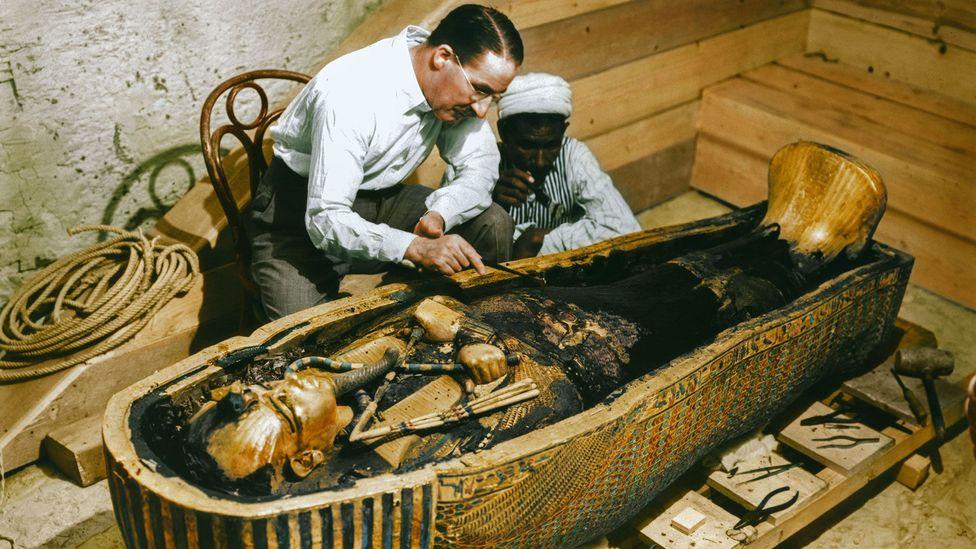 The Curse Of The Pharoah: King Tutankhamun's Tomb